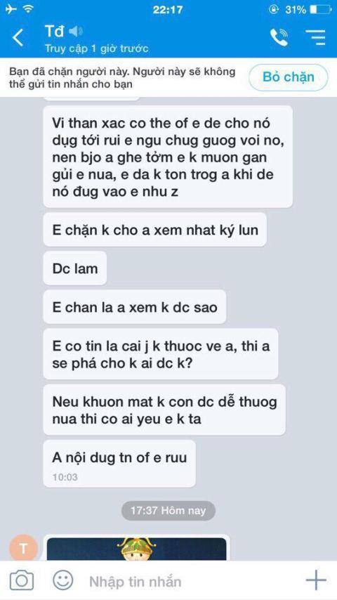 To can bo dung anh nong tong tinh: Vo thong cam