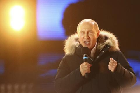 Ong Putin cham dut don doan tai tranh cu tong thong