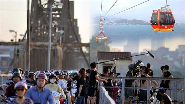 Làm cáp treo vượt sông Hồng: Cho ai đi?