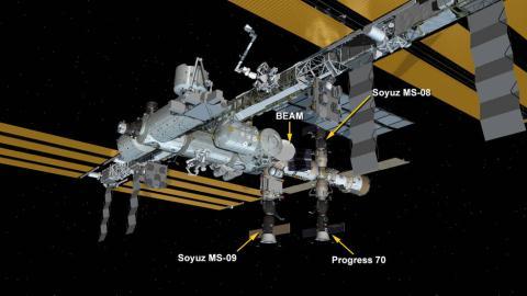 Tram ISS bi ro ri khi, bit tam thoi bang...ngon tay