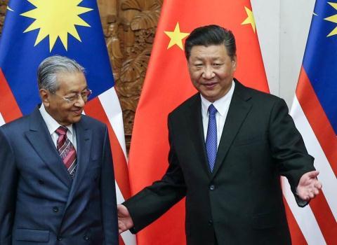 Malaysia chinh thuc huy du an 3 ty USD cua Trung Quoc