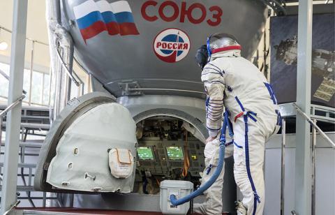 Het cach len ISS, My lai tim den Nga