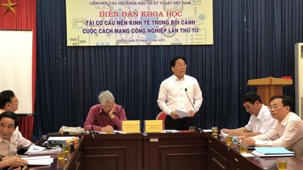 Việt Nam phải bắt nhịp tái cơ cấu kinh tế thời 4.0