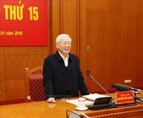 Tong Bi thu: Nam 2019 ket thuc dieu tra 21 vu an