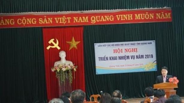 Liên Hiệp hội KHKT Quảng Nam triển khai nhiệm vụ năm 2019