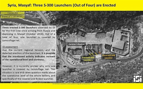Tranh luan S-300 Syria da bat dau truc chien day du