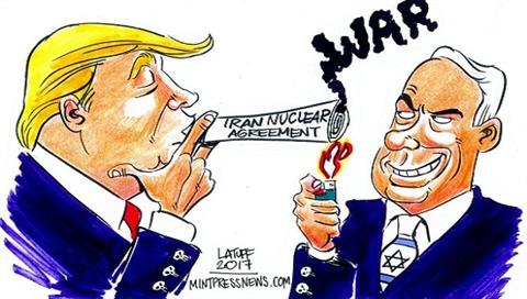 Ong Trump va quan chuc My, Israel mau thuan vecai gi?