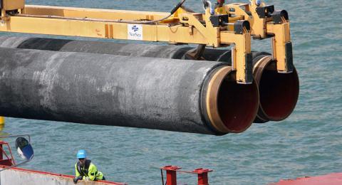 Phap-Duc thoa hiep Nord Stream 2: My hung don choang vang