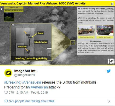 Venezuela dung S-300VM khoa khong phan tu huong bien