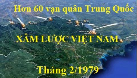 Thang 1/1979: Trung Quoc dua 600.000 quan len bien gioi Trung-Viet