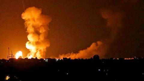 Israel bat ngo khong kich vao khu vuc co S-300