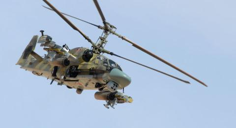 Nga voi nang cap Ka-52 sau thoi gian thuc chien tai Syria