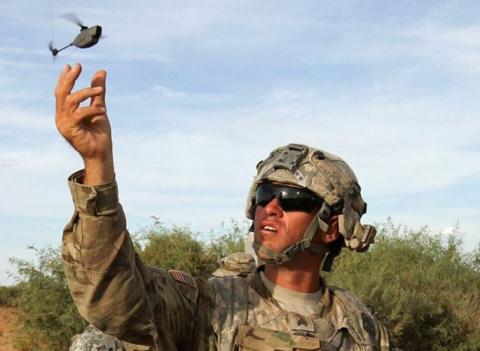 My bo xa Nga khi phat trien UAV sieu nho