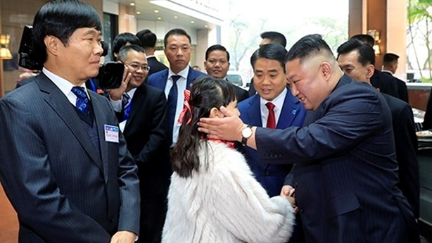 Hà Nội chào đón Chủ tịch Triều Tiên Kim Jong-un