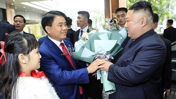 Chủ tịch Triều Tiên Kim Jong-un thăm chính thức Việt Nam