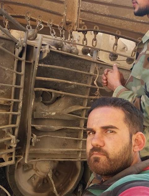 'Giap khung' kho giup tang T-72 Syria thoat hiem