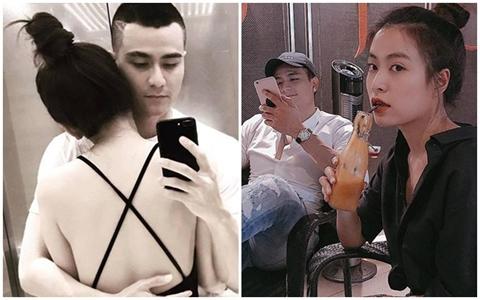 Nghi chia tay, Vinh Thuy noi thang 'chuyen clip' Hoang Thuy Linh