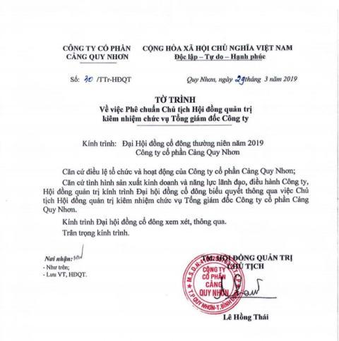 Ong chu Cang Quy Nhon muon thau tom quyen luc