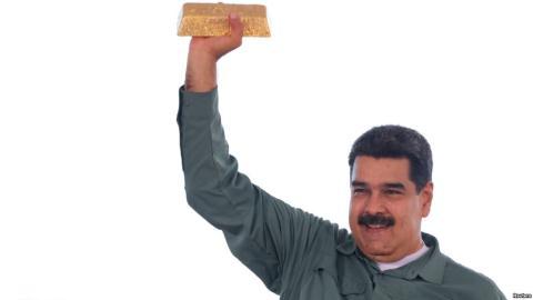 Venezuela khong doi duoc vang danh ban kho du tru