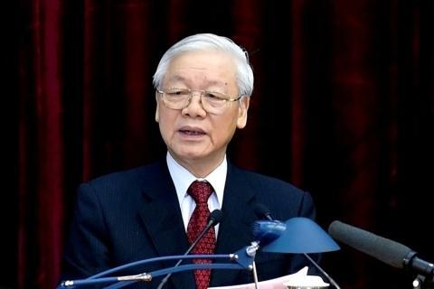 Tong Bi thu, Chu tich nuoc gui dien mung toi Trieu Tien