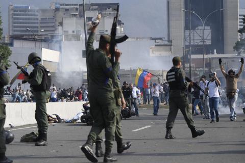 Muon cuu Guaido, My trung phat nganh tu phap Venezuela