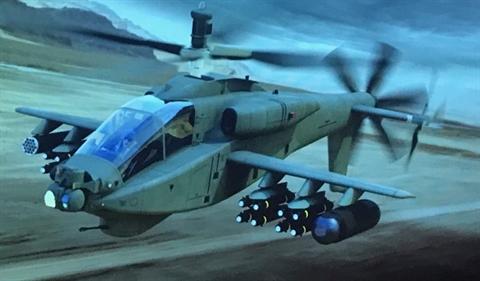 My khoe AH-64 Apache sieu toc