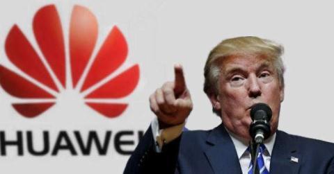 Don Huawei vao duong cung: Chien thuat tranh cu ong Trump?