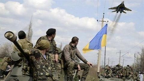 Ukrainehoc 'mieng gan ga' Donbass
