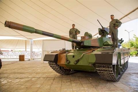 Iraq ra mat phien ban nang cap cuc manh cua T-54/55