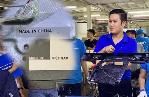 Tu su co Asanzo nghi ve 'Made in Vietnam'