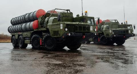 Tho co the dat S-400 o bien gioi Syria
