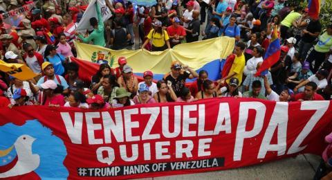 My het bai chien luoc, dung don cu voi Venezuela
