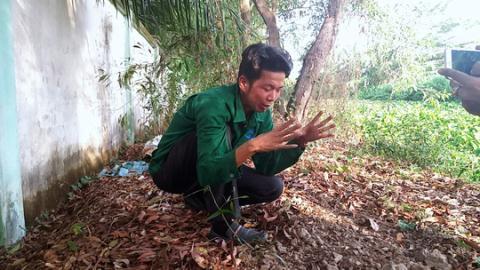 Vu nha may rac chon xac thai nhi: Co dang trach khong?