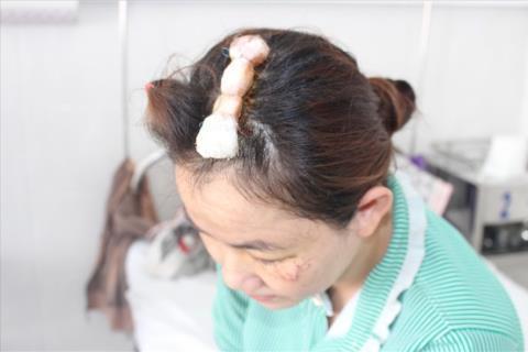 Nu chu nha chem chet trom: Phong ve chinh dang