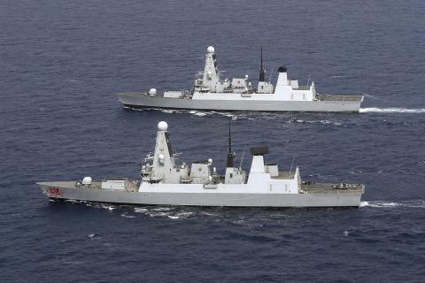 Chien ham HMS Duncan cola moi ngontai Vinh Ba Tu?