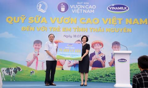 Quy sua Vuon cao Viet Nam-Vinamilk vi tre em Thai Nguyen
