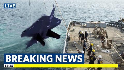 F-35 Nhat Ban gap nan: Phi cong mat phuong huong khong gian