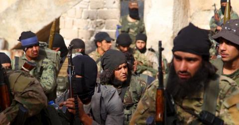 Syria chiem duoc thi tran chien luoc o Idlib