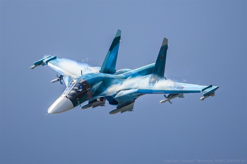 Theo Interfax, máy bay ném bom đa năng Su-34 tiếp tục được cải tiến cho phép chúng trang bị các loại vũ khí hàng không mới và hiện đại nhất của Nga. Quá trình hiện đại hóa được chia làm các giai đoạn khác nhau.