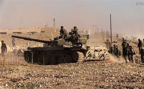SAA chiem duoc nhieu thanh tri moi cua phien quan tai Idlib