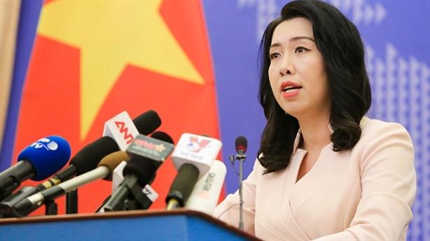 Phản đối tàu Hải Dương 8 lại xâm phạm biển Việt Nam