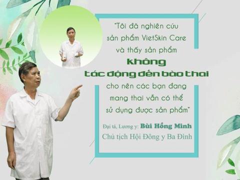Phu nu Viet chuong su dung my pham chiet xuat tu nhien