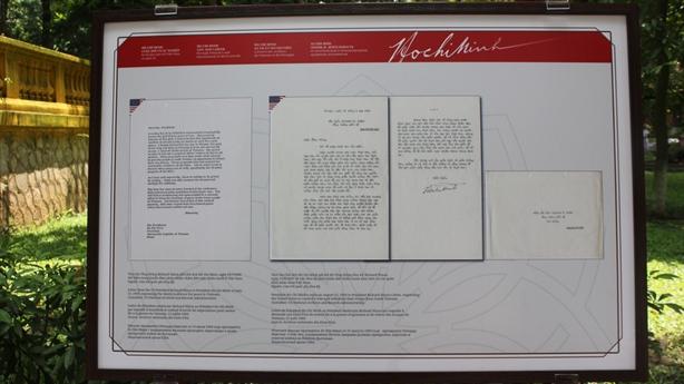 Lá thư Bác Hồ gửi Tổng thống Nixon trước khi qua đời