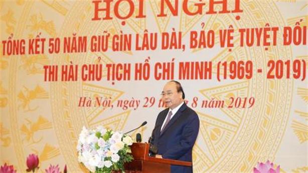 Việt Nam bảo vệ tuyệt đối an toàn thi hài Bác Hồ