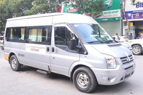 Thuc nghiem vu Gateway: Tai xe don tre tai cong chinh Gateway