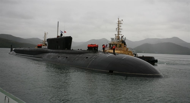 Khi không mang SLBM, một chiếc tàu ngầm có thể phóng đi tới 200 tên lửa siêu thanh, và \