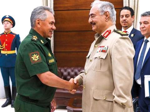 Nga phủ nhạn dua lính dánh thue dén Libya