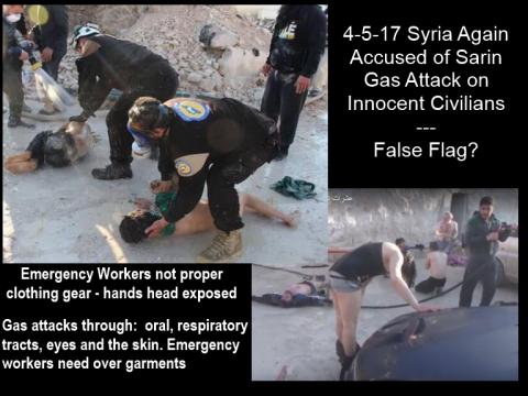 Lọ bàng chúng OPCW dỏ lõi Syria tán cong hóa học