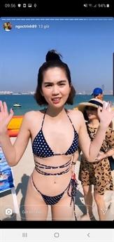 Mới đây, trên mạng xã hội Ngọc Trinh đã khoe những hình ảnh đang tận hưởng kỳ nghỉ tại Dubai sau một năm làm việc vất vả.