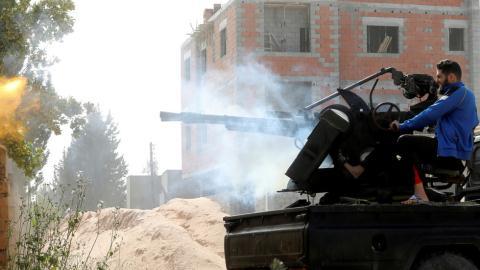 Tho quyet dieu quan sang Libya, My noi giong dao duc